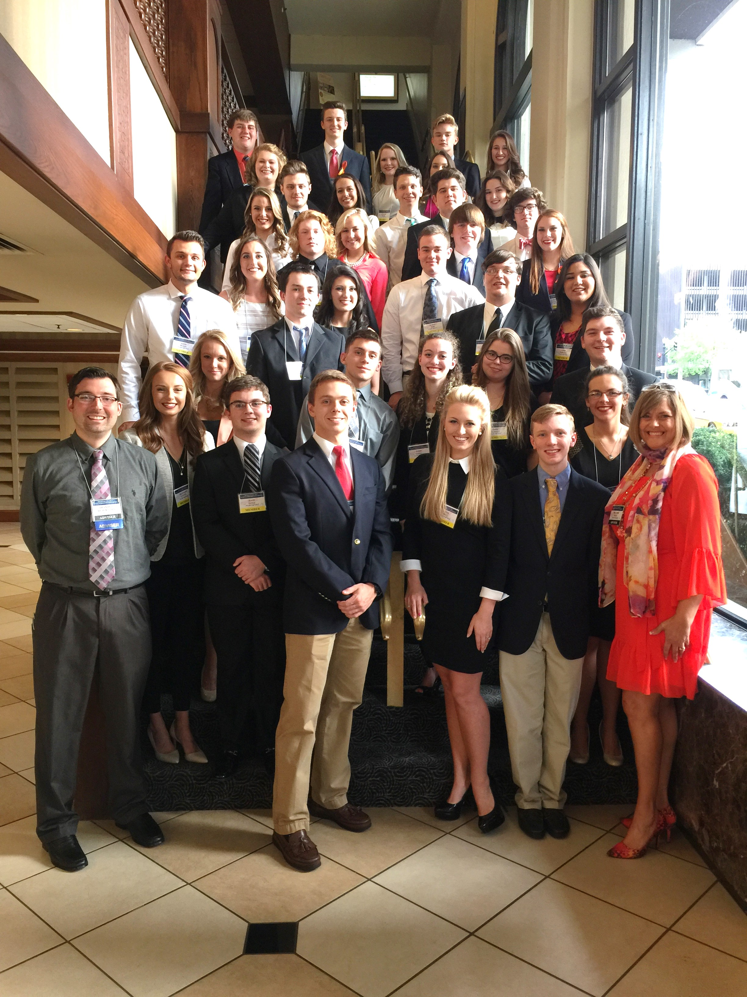 PHS FBLA State Competitors