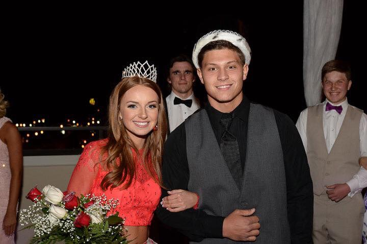 PHS 2016 Prom King and Queen