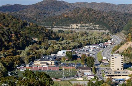 Campus of Pikeville High School